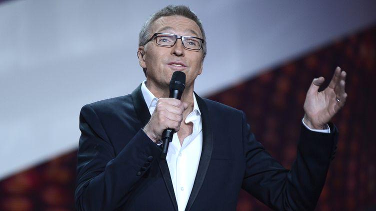 Laurent Ruquier pendant les28eVictoires de la Musique, le 8 février 2013. (BERTRAND GUAY / AFP)