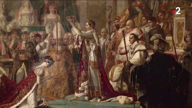 """Histoire : """"Le sacre de Napoléon"""", un tableau qui pose question"""