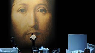 """""""Sur le concept du visage du fils de dieu"""" au Festival d'Avignon 2011  (ANNE-CHRISTINE POUJOULAT/AFP)"""