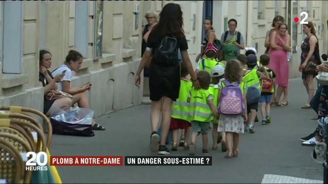 Pollution au plomb : un deuxième enfant scolarisé près de Notre-Dame dépisté avec un taux anormalement élevé