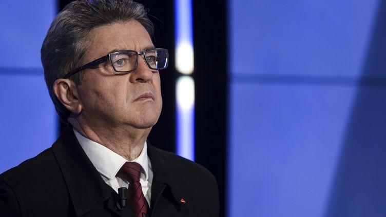 Jean-Luc Mélenchon,député de la4e circonscription des Bouches-du-Rhône, le 20 mars 2019. (KENZO TRIBOUILLARD / POOL)