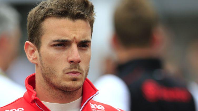 Le pilote français de Formule 1 Jules Bianchi, le 22 mai 2014, à MonteCarlo, pour le Grand Prix de Monaco. (ALEXANDER KLEIN / AFP)