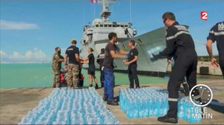 Les distributions d'eau s'intensifient à Saint-Martin (France 2)