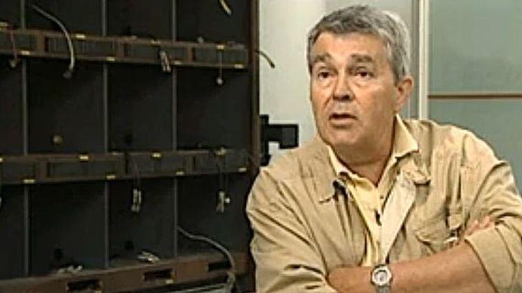 Christian Guy dirigea plusieurs grandes rédactions de la télévision française  (INA)