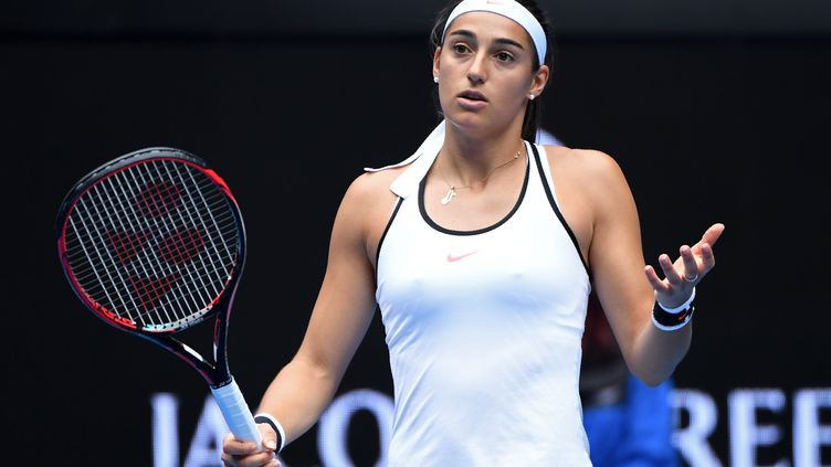 Caroline Garcia perdue, sans solution (WILLIAM WEST / AFP)