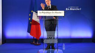 Richard Ferrand, secrétaire général d'En marche !, le 11 mai 2017 à Paris. (ERIC FEFERBERG / AFP)