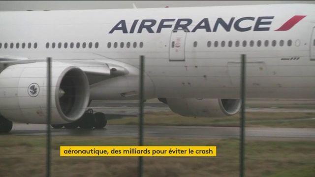 Aéronautique : un secteur suspendu au plan de soutien de l'État