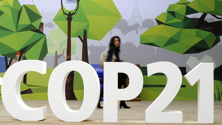 (COP21 au Bourget ©Maxppp)
