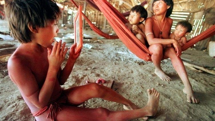 Indiens Yanomamis au Brésil (1998) (© AFP)