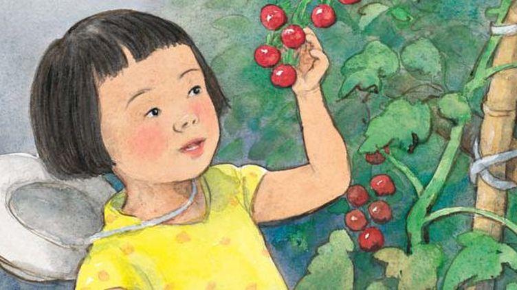 La fête de la tomate, Satomi Ichikawa  (Satomi Ichikawa / L'école des loisirs)