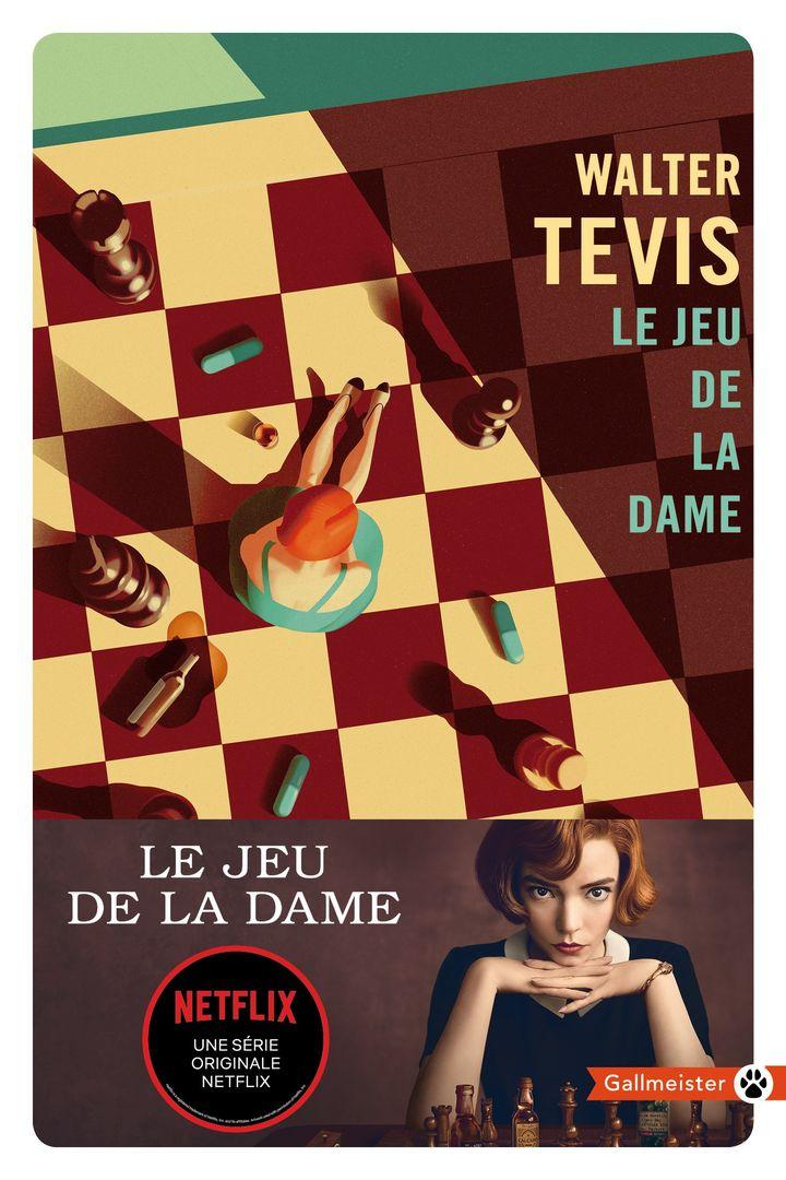 """Couverture du roman """"Le jeu de la dame"""", de Walter Tevis (@ Gallmeister)"""