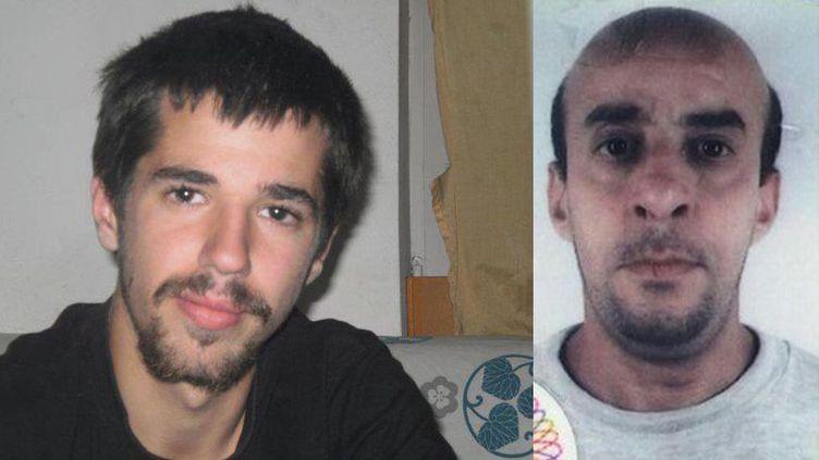 Jean-Christophe Morin et Ahmed Hamadou ont disparu au fort de Tamié (Savoie) respectivement en 2011 et 2012. (CAPTURE D'ECRAN FACEBOOK / RADIOFRANCE)