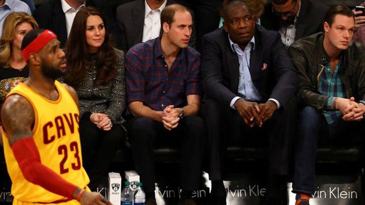 LeBron James sous les yeux du Prince William et de Kate Middleton (AL BELLO / GETTY IMAGES NORTH AMERICA)