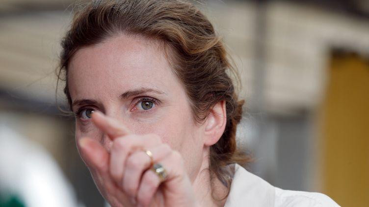 Nathalie Kosciusko-Morizet, candidate UMP à la mairie de Paris, le 4 juillet 2013 lors du lancement de sa campagne dans la capitale. (FRANÇOIS GUILLOT / AFP)