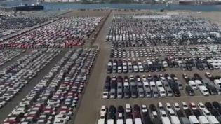 Avec les aides annoncées par l'État, le marché de l'automobile espère retrouver un certain élan positif après les violents dégâts qu'a suscité la crise. (FRANCE 3)