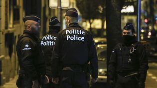 L'homme a été arrêté le 30 décembre 2015, lors d'une perquisition dans la commune de Molenbeek, à Bruxelles (Belgique). (THIERRY ROGE / BELGA MAG / AFP)