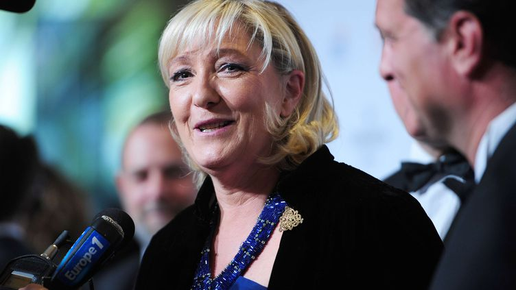 Marine Le Pen, le 21 avril 2015 à New York(Etats-Unis). (SIPANY/SIPA / SIPA USA)