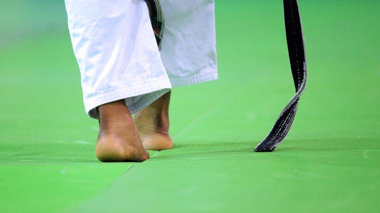 Une vingtaine de cas sur les 330 recensés par la cellule mise en place au ministère des Sports vise actuellement le judo, l'un des sports les plus pratiqués en France avec près d'un demi-million de licenciés. (FRANCK FIFE / AFP)