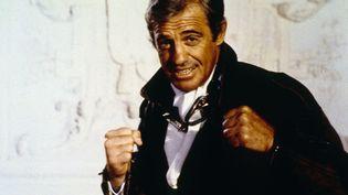 """Jean-Paul Belmondo en 1982 pour """"L'As des as"""". (CERITO FILMS / GAUMONT INTERNATIONAL / COLLECTION CHRISTOPHEL / AFP)"""