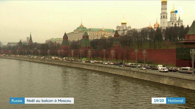 Russie : pas de neige à Moscou, où le printemps semble poindre