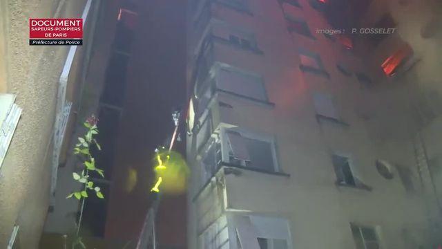 Incendie dans un immeuble du 16e arrondissement de Paris