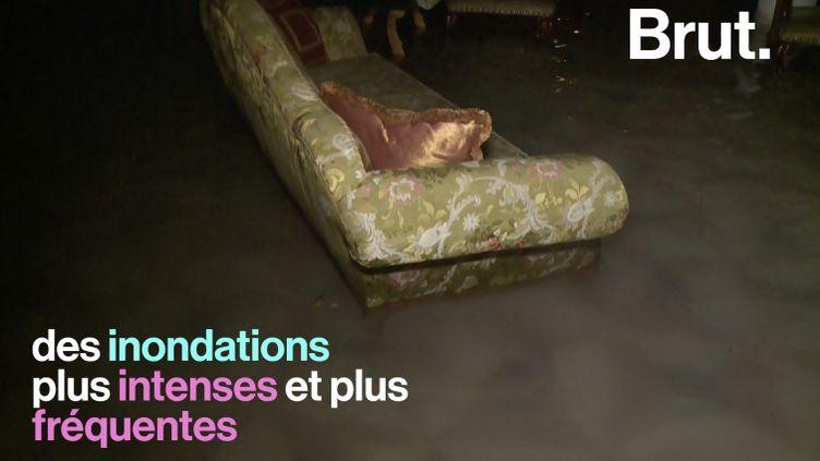 VIDEO. Les experts du GIEC prévoient des inondations plus fréquentes et plus intenses (BRUT)