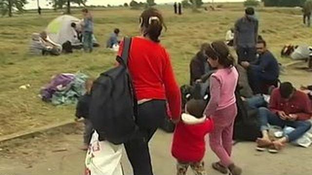 Les enfants, en première ligne de la crise des réfugiés