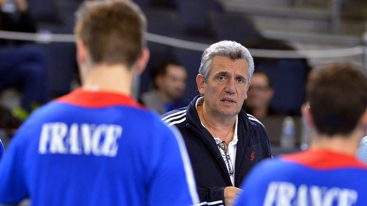Claude Onesta, l'entraîneur des Bleus... (GEORGES GOBET / AFP)