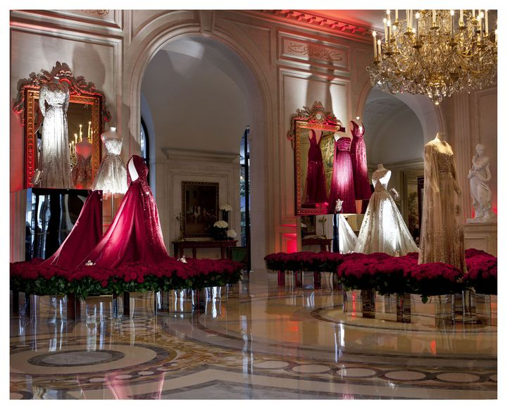 Exposition Elie Saab au Four Seasons Hôtel George V à Paris...  (DR)