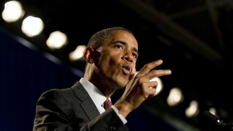 Le président des Etats-Unis, Barack Obama, le 16 septembre 2011 (AFP - Jim WATSON)