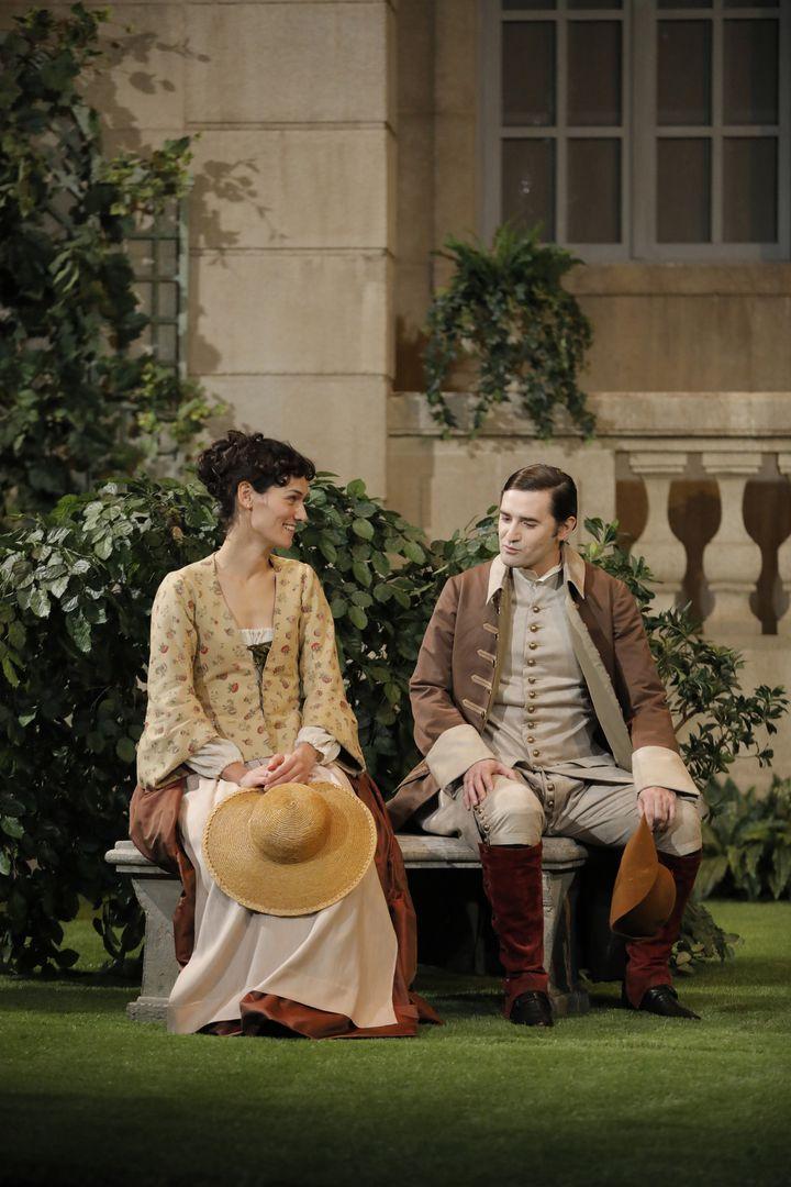 Clotilde Hesme (Sylvia) et Nicolas Maury (Dorante)  (Pascal Victor)