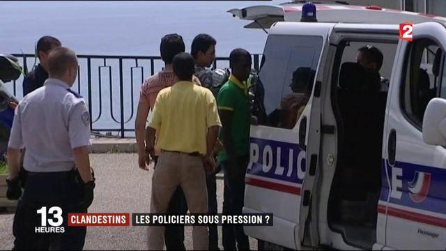 Clandestins : les policiers sous pression ?