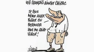 """""""Chirac"""" : un album posthume des dessins de Tignous  (France 3 / Culturebox / capture d'écran / Editions du Chêne / Chloé Verlhac)"""