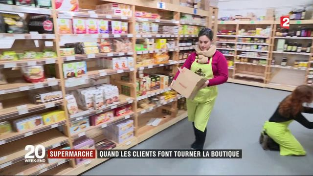 Supermarchés coopératifs : quand les clients font tourner la boutique