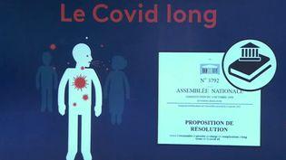 """""""Covid long"""" : un texte présenté à l'Assemblée nationale pour la reconnaissance des symptômes persistants (FRANCE 2)"""