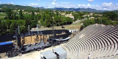 Théâtre antique Vaison-la-Romaine  (PHOTOPQR/LA PROVENCE)