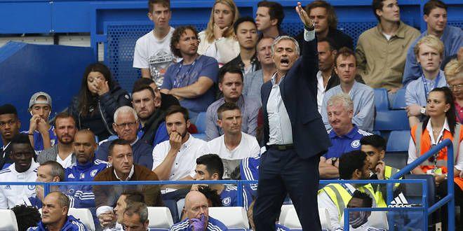 José Mourinho dans le dur