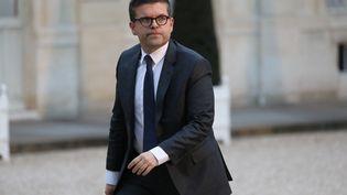 Le maire d'Alfortville Luc Carvounas, en janvier 2018. (LUDOVIC MARIN / AFP)