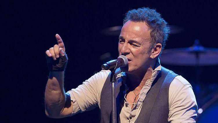 Bruce Springsteen à Perth, lors du coup d'envoi de sa tournée australienne, le 22 janvier 2017.  (Emma Bryant / WENN.com / Sipa)