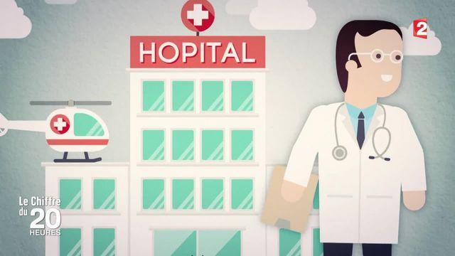 Le chiffre du 20 Heures : la France compte 198 365 médecins