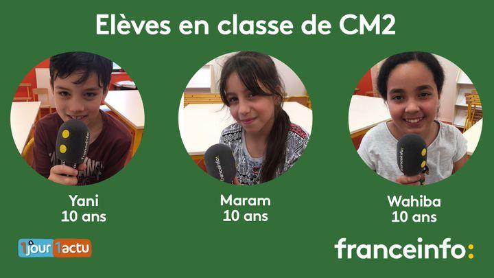franceinfo junior, une émission en partenariat avec le magazine d'actualités pour enfants, 1jour1actu et 1jour1actu.com. (ESTELLE FAURE / FRANCEINFO - RADIOFRANCE)