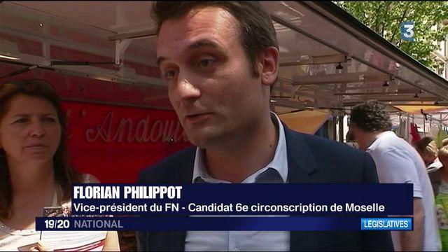 Législatives 2017 : Florian Philippot en campagne