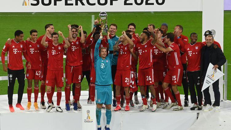 Le Bayern a remporté sa 8e Supercoupe d'Allemagne (CHRISTOF STACHE / AFP)
