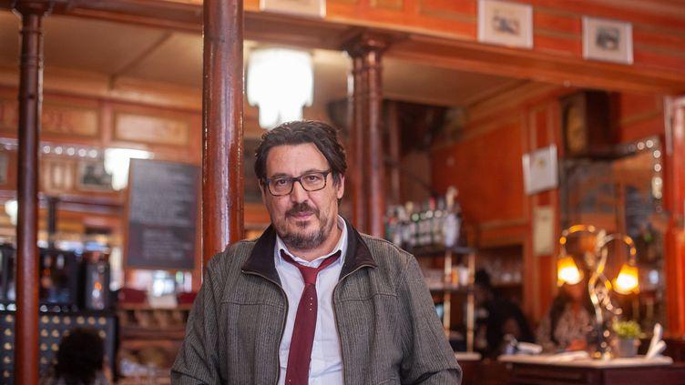 Le journaliste David Dufresne. (ULYSSE GUTTMANN-FAURE)