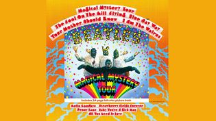 """La pochette de """"Magical Mystery Tour"""" des Beatles (1967)  (EMI)"""