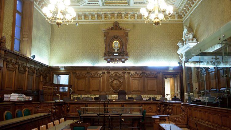 La salle d'audience de la cour d'assises de Paris, le 7 novembre 2011. (MAXPPP)