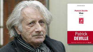 """Patrick Deville et son nouveau roman """"Viva"""" (Seuil)  (ANDREU DALMAU/EFE/MAXPPP)"""