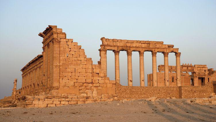 Les jihadistes de l'Etat islamique se trouvaient, le 17 mai 2015, à un kilomètre du site antique de Palmyre, inscrit au patrimoine mondial de l'Unesco (photo d'archives). (MANUEL COHEN / AFP)