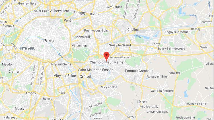 Champigny-sur-Marne (Val-de-Marne). (GOOGLEMAPS)