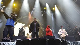 Le groupe de hip hop américain Wu-Tang Clan au Forbidden Fruit Festival de Dublin, en Irlande  (Artur Widak / NurPhoto)